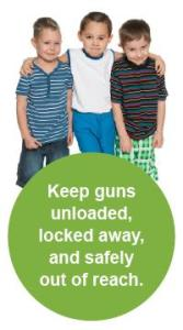 Keep guns unloaded